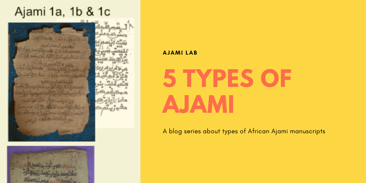 Types of African Ajami